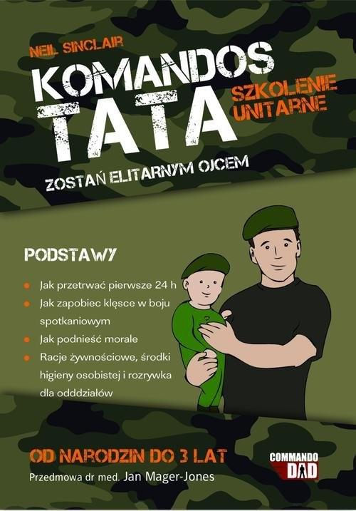 okładka Tata Komandos: Szkolenie podstawowe, Książka | Sinclair Neil
