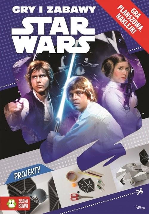 okładka Star Wars Gry i zabawy, Książka | Sobich-Kamińska Anna