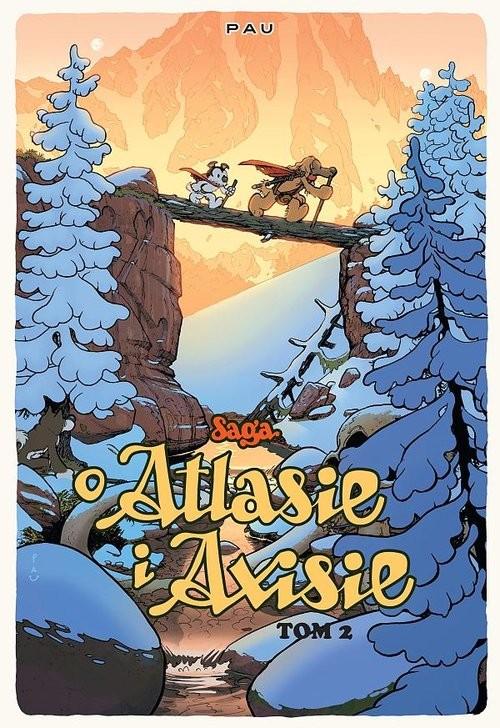okładka Saga o Atlasie i Axisie Tom 2książka |  | Pau