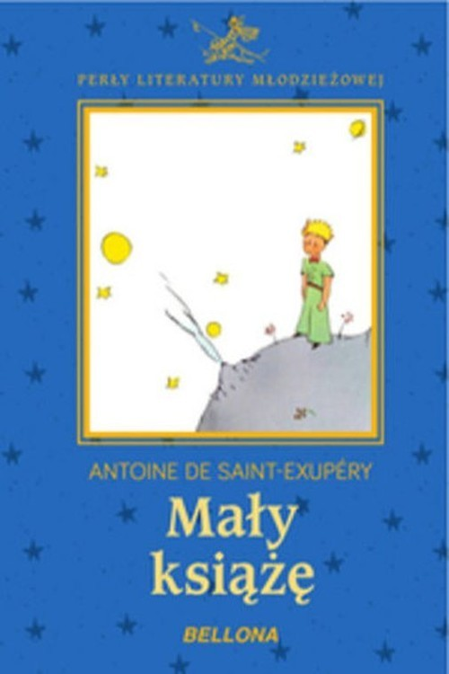okładka Mały książę, Książka | de Antoine Saint-Exupery
