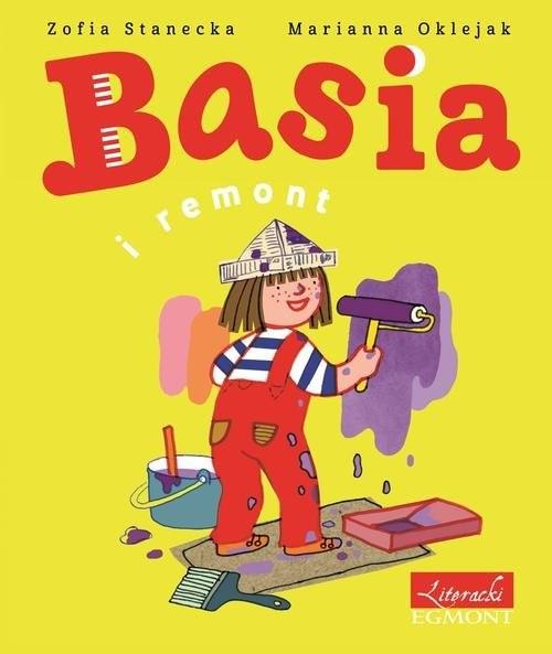 okładka Basia i remont, Książka | Stanecka Zofia