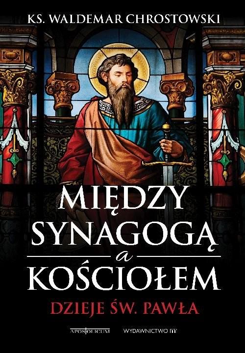 okładka Między Synagogą a Kościołem Dzieje św. Pawła, Książka | prof Waldemar Chrostowski