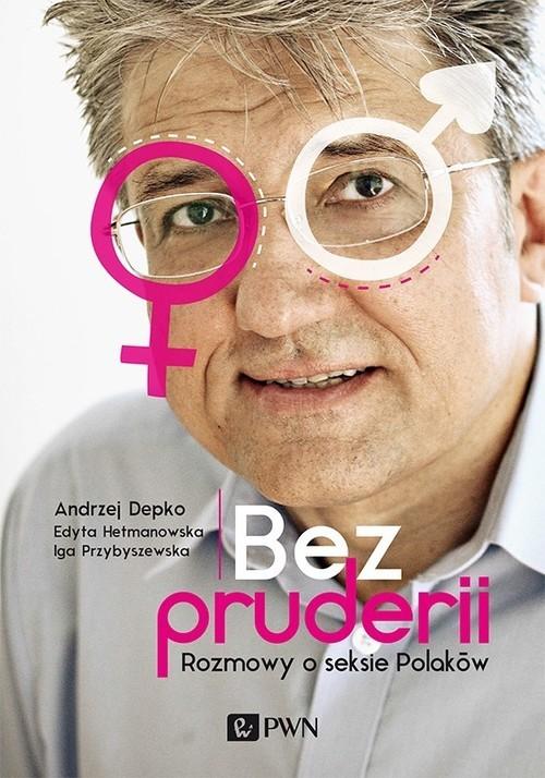 okładka Bez pruderii, Książka | Depko Andrzej