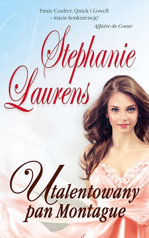 okładka Utalentowany Pan Montague, Książka | Laurens Stephanie
