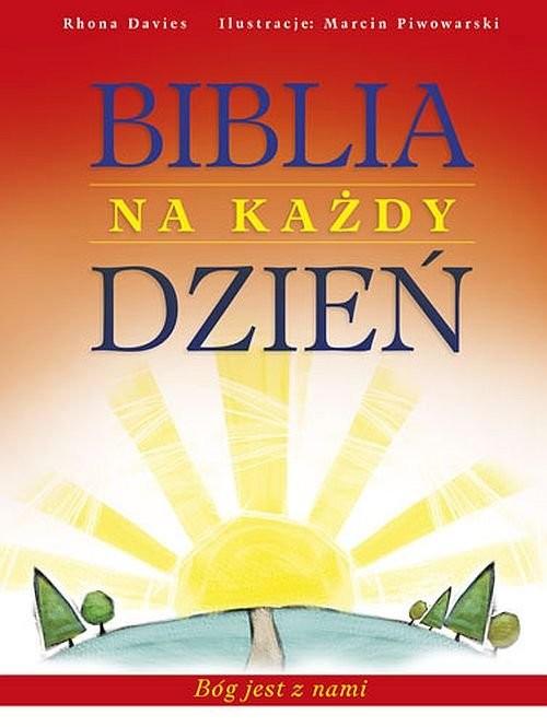 okładka Biblia na każdy dzień Bóg jest z nami, Książka | Davies Rhona
