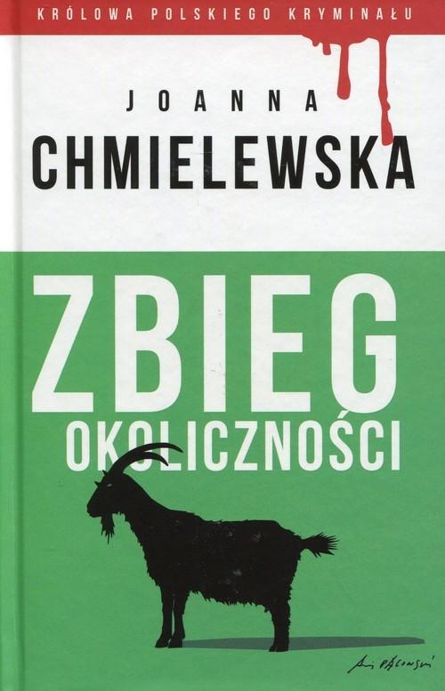okładka Zbieg okoliczności, Książka | Chmielewska Joanna