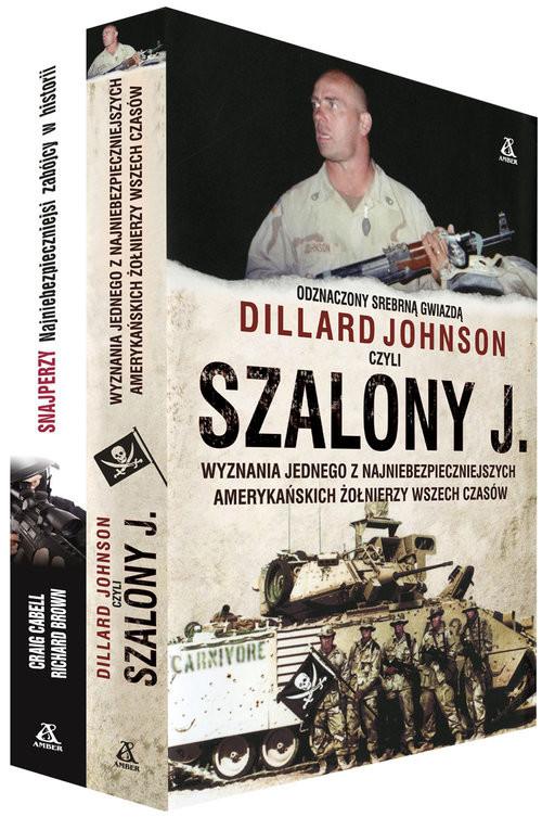 okładka Szalony J. / Snajperzy Pakiet, Książka | Johnson Dillard, Craig Cabell, Richard Brown