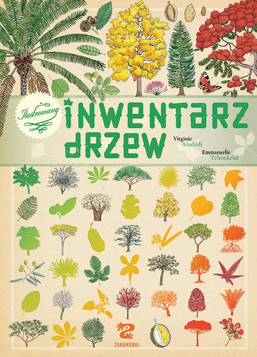 okładka Ilustrowany inwentarz drzew, Książka | Aladjidi Virginie