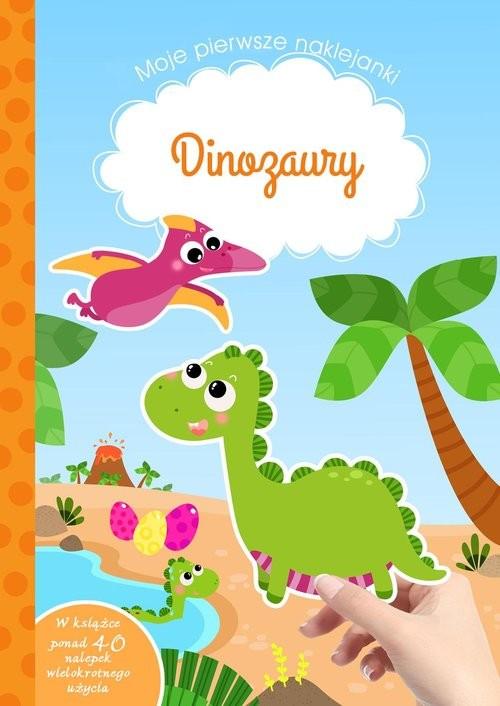 okładka Moje pierwsze naklejanki Dinozaury, Książka | Tamara Michałowska