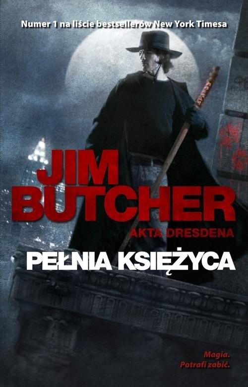 okładka Pełnia Księżyca, Książka | Butcher Jim