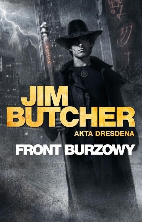 okładka Front burzowy, Książka | Butcher Jim