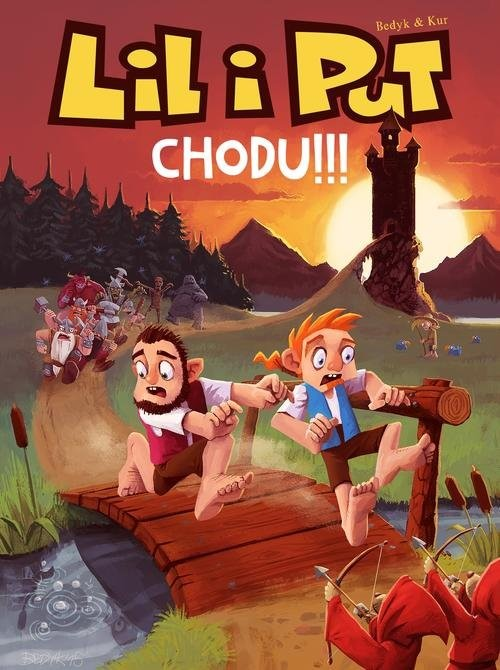 okładka Lil i Put Chodu!!! Tom 2, Książka | Kur Maciej