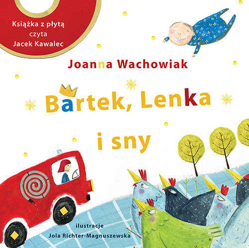 okładka Bartek, Lenka i sny, Książka | Wachowiak Joanna