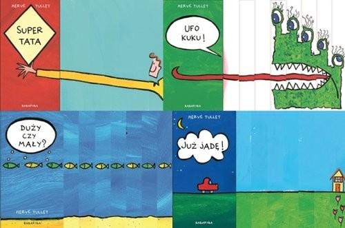 okładka Zestaw kartonikowych książek dla najmłodszych Pakiet, Książka | Tullet Herve