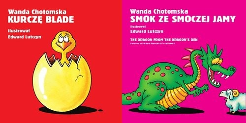 okładka Kurczę blade / Smok ze smoczej jamy Pakiet, Książka | Wanda Chotomska, Edward Lutczyn