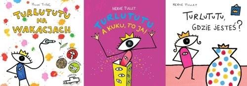 okładka 3 x TURLUTUTU Pakiet, Książka | Tullet Herve