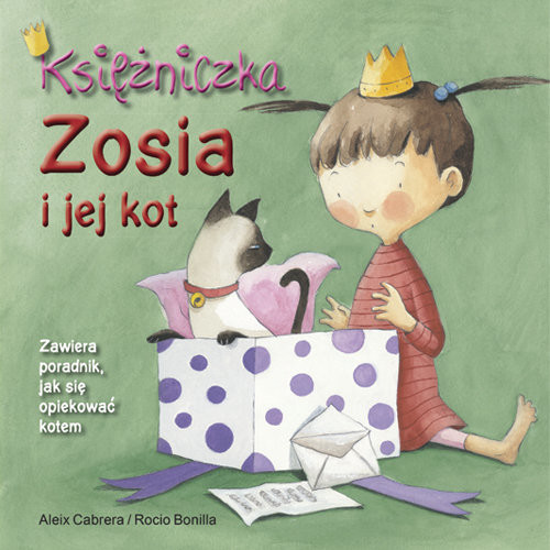 okładka Księżniczka Zosia i jej kot, Książka | Cabrera Aleix
