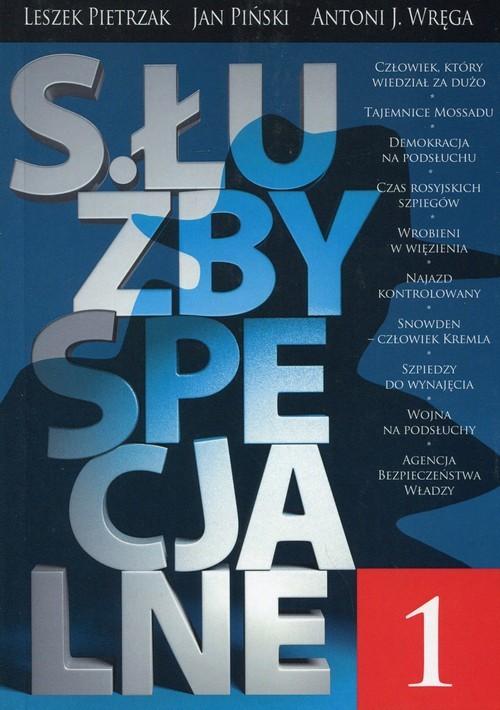 okładka Służby specjalne 1, Książka | Leszek  Pietrzak, Jan Piński, Antoni J. Wręga
