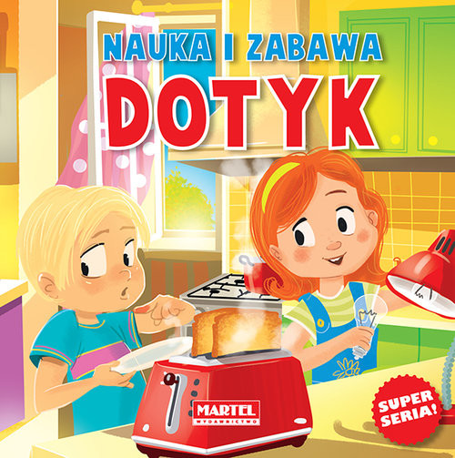 okładka Nauka i zabawa Dotykksiążka |  | Agnieszka Nożyńska-Demianiuk