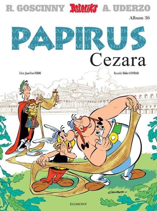okładka Asteriks Tom 36 Papirus Cezara, Książka  