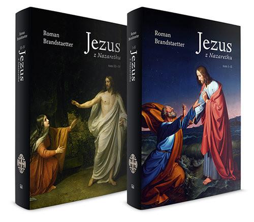 okładka Jezus z Nazarethu Tom 1 i 2, Książka | Brandstaetter Roman
