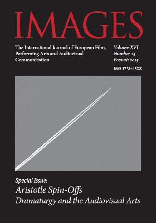 okładka IMAGES The International Journal of European Film, Performing Arts and Audiovisual Communication Volume XVI, Książka | Igielska Anna, Lisiecka (red.) Katarzyna