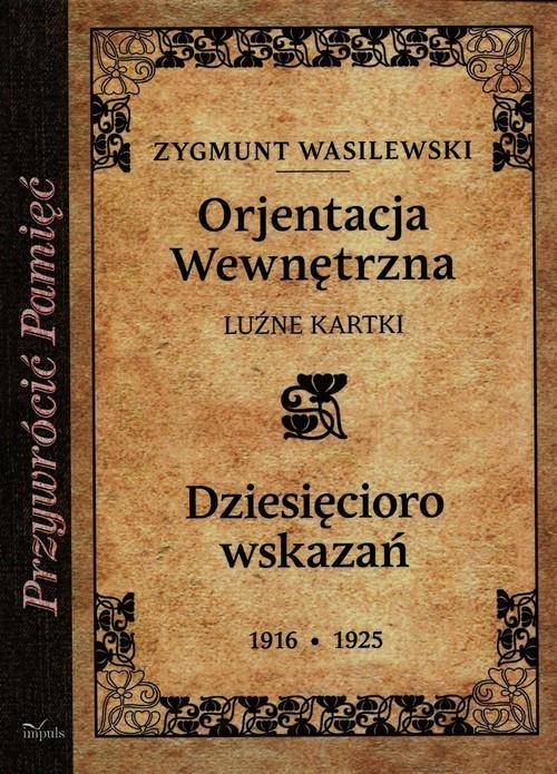 okładka Orjentacja wewnętrzna, Książka | Wasilewski Zygmunt