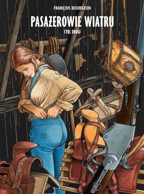 okładka Pasażerowie wiatru, wydanie zbiorcze, cykl 2, Książka   Bourgeon François