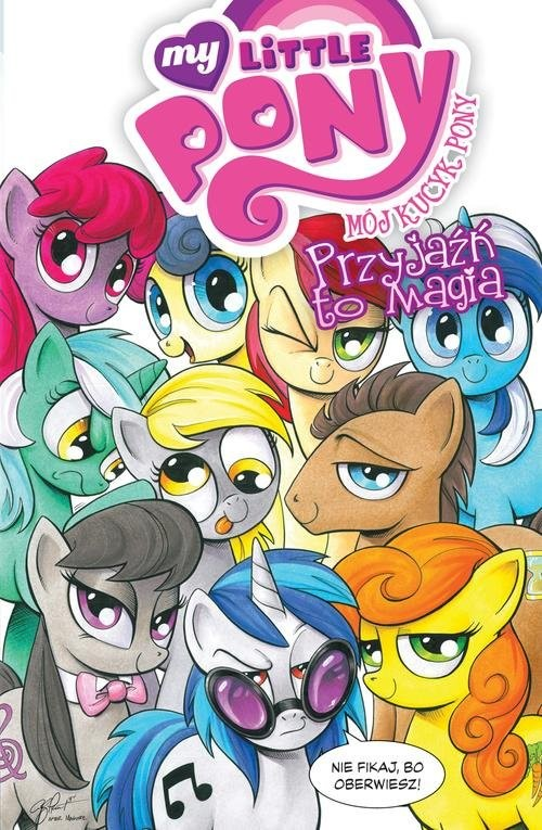 okładka Mój Kucyk Pony Przyjaźń to magia Tom 3, Książka  
