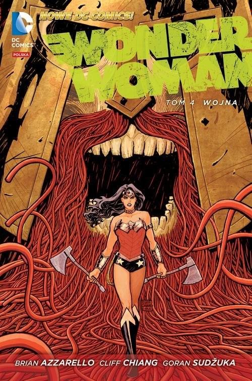 okładka Wonder Woman, Wojna, Tom 4, Książka  