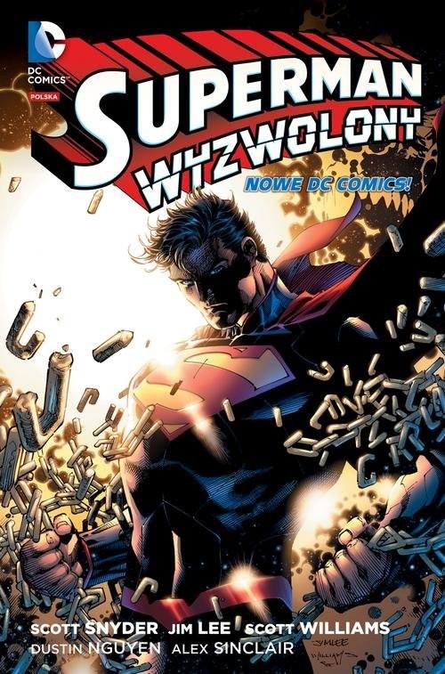 okładka Superman wyzwolony, Książka  