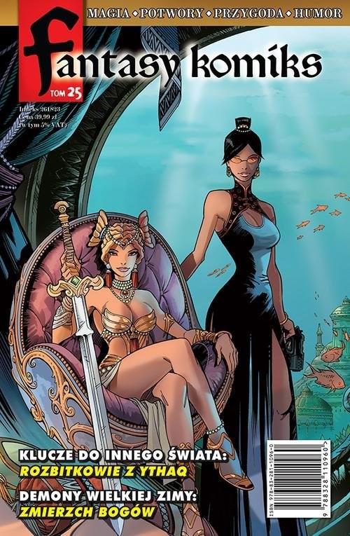 okładka Fantasy Komiks Tom 25, Książka  