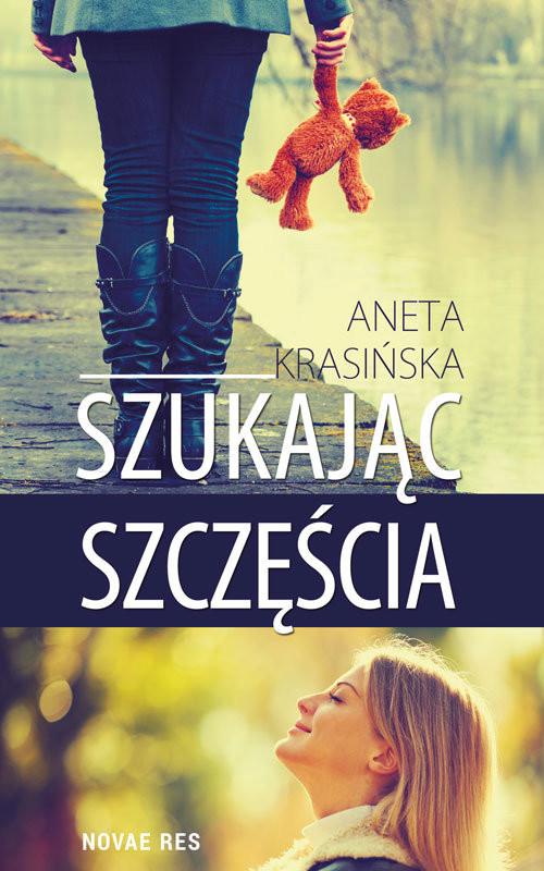 okładka Szukając szczęścia, Książka   Krasińska Aneta