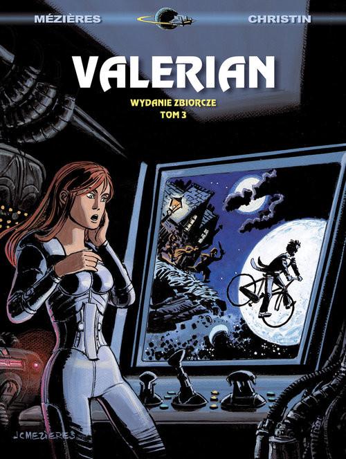 okładka Valerian Wydanie zbiorcze Tom 3, Książka   Pierre Christin, Jean-Claude Mezieres