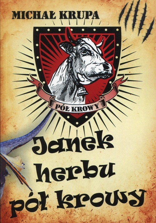 okładka Janek herbu pół krowy, Książka | Michał Krupa