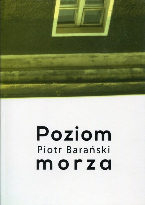 okładka Poziom morza, Książka   Barański Piotr