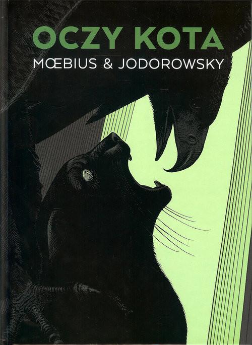 okładka Oczy kota, Książka   Moebius, Alexandro Jodorowsky
