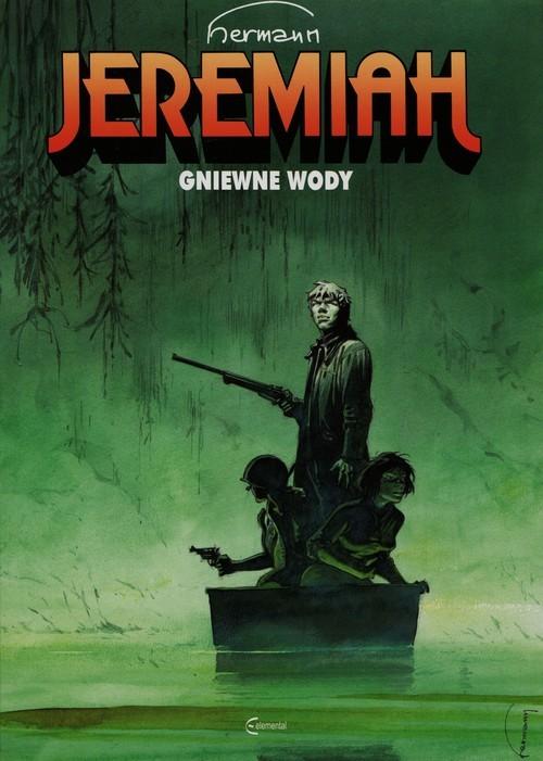 okładka Jeremiah 8 Gniewne wody, Książka   Hermann