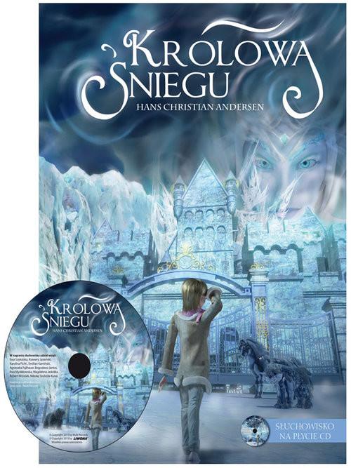 okładka Królowa Śniegu + CD, Książka | Hans Christian Andersen