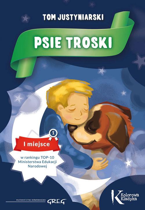 okładka Psie troski, Książka | Justyniarski Tom