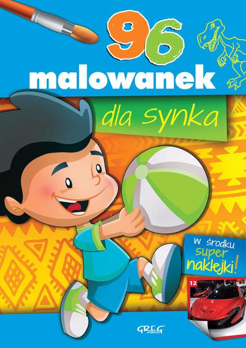 okładka 96 malowanek dla synka, Książka | Panek Aleksander