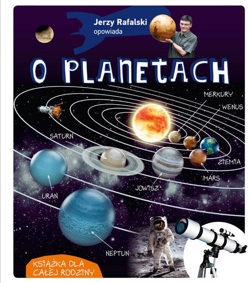 okładka Jerzy Rafalski opowiada o planetach, Książka | Rafalski Jerzy