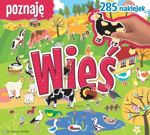 okładka Poznaję wieś, Książka   Miłoszewski Leszek