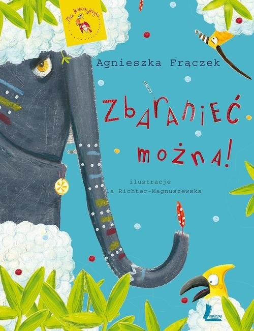 okładka Zbaranieć można, Książka | Frączek Agnieszka