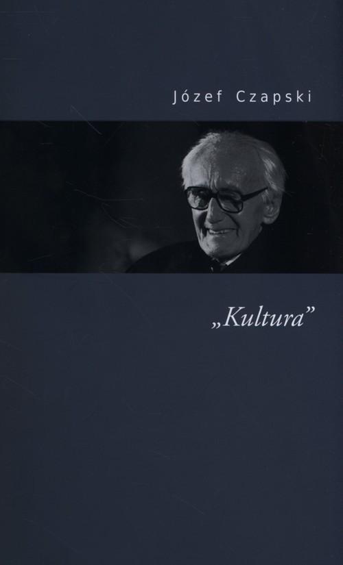 okładka Kultura, Książka | Czapski Józef