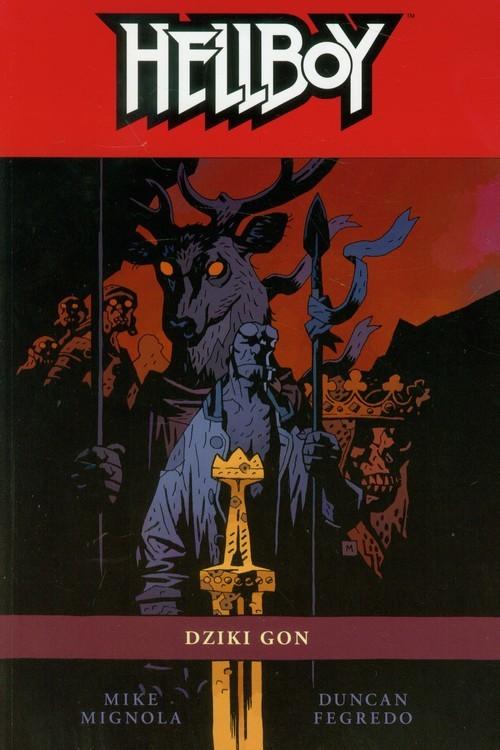 okładka Hellboy Dziki gon Tom 11, Książka | Mignola Mike