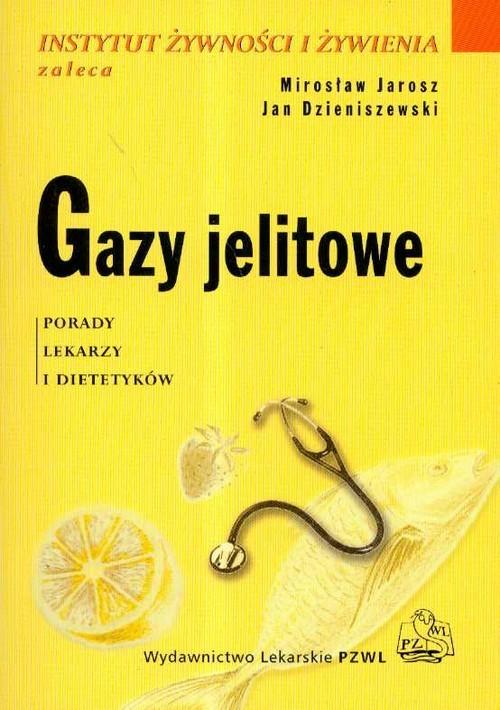 okładka Gazy jelitowe, Książka | Mirosław  Jarosz, Jan Dzieniszewski