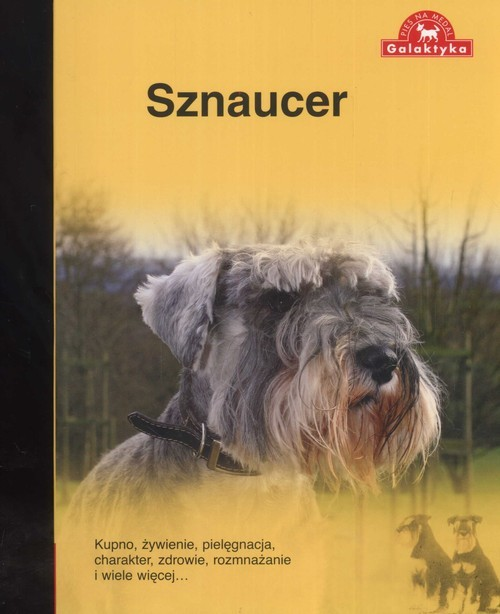 okładka Sznaucer, Książka |