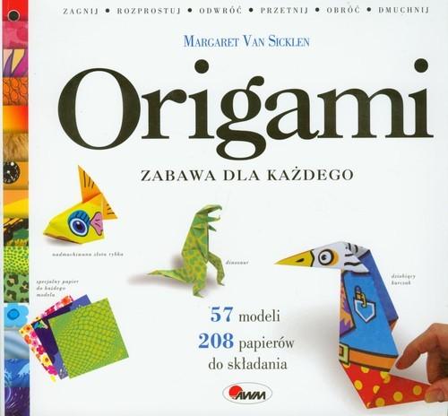 okładka Origami Zabawa dla każdego, Książka   Sicklen Margaret