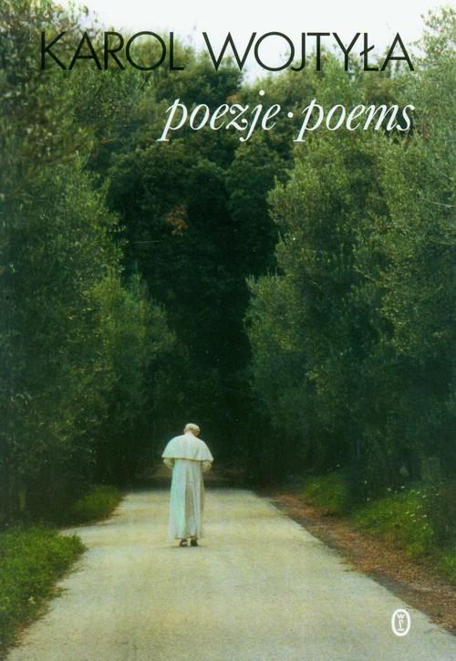 okładka Poezje poems Wojtyła, Książka | Wojtyła Karol